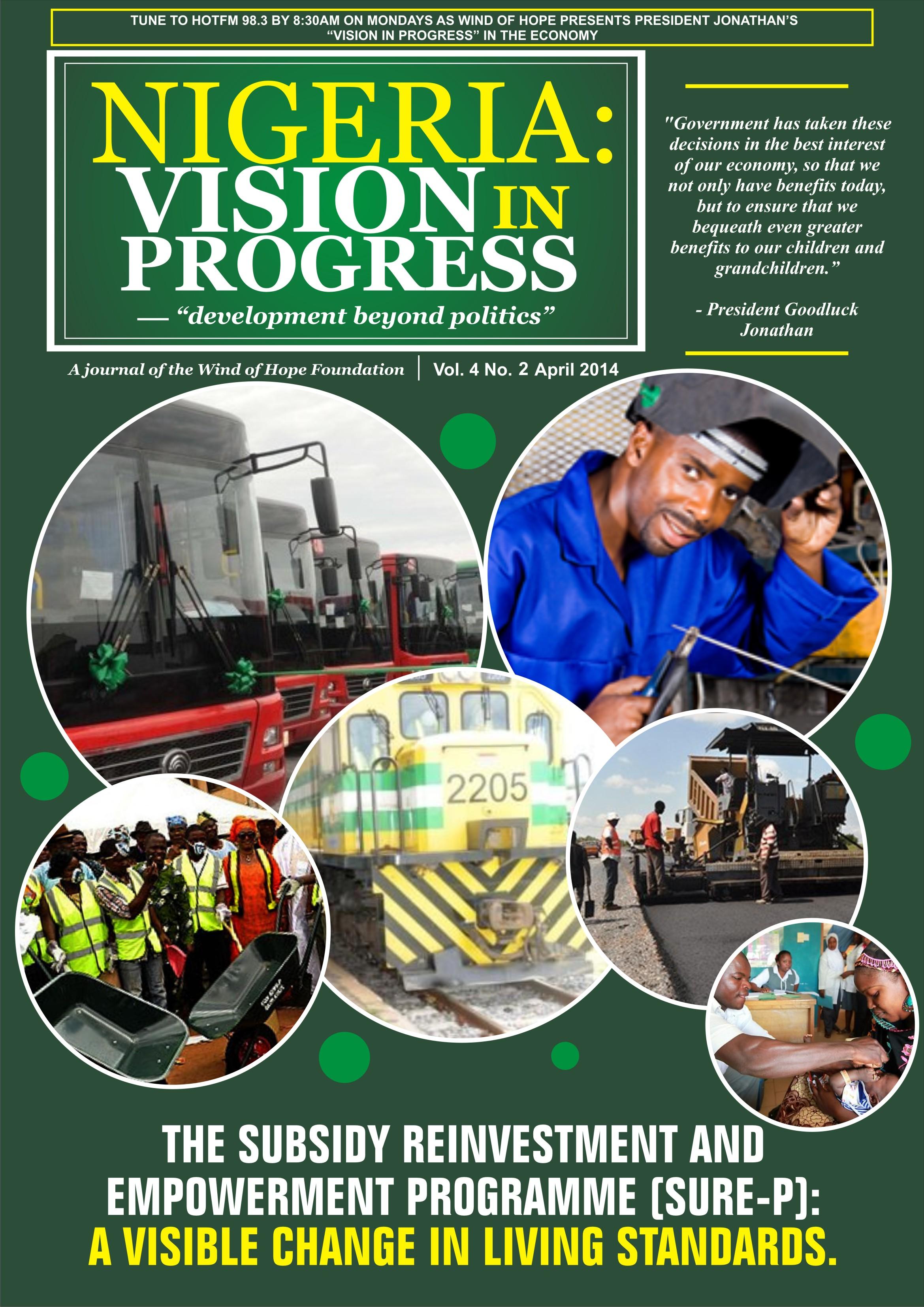 Subsidy reinvestment programme in nigeria artikel norma dan hukum forex